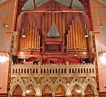 Organ, Old South Church by David Davies