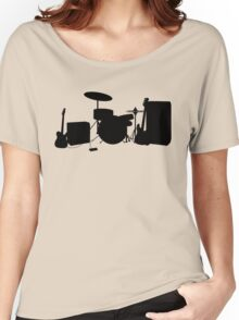 Rock Band Women's Relaxed Fit T-Shirt