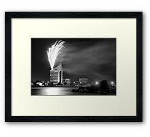 Australia Day Celebrations - Bunbury WA  2011 Framed Print