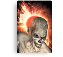 Deadly Fire Canvas Print