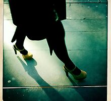 yellow shoes and dance the blues by Tony Day