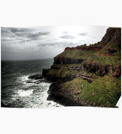 Giants Causeway - Northern Ireland Poster