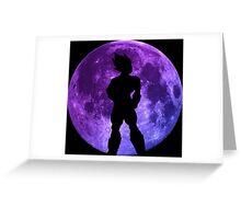 dragon ball z vegeta moon anime manga shirt Greeting Card
