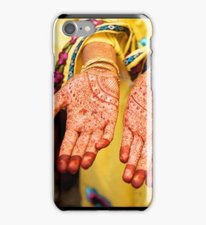Mehendi in Udaipur iPhone Case/Skin