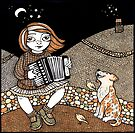 Annie's Accordian by Anita Inverarity