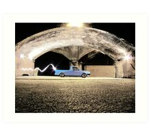 VW Caddy Mk1 Art Print