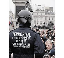 cctv terrorism Photographic Print