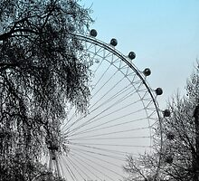 London Eye by Sam Halford