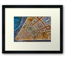 Gallery of Maps Framed Print