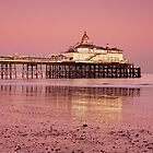 Eastbourne Beach by Kasia Nowak