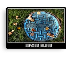 Sewer Blues Canvas Print