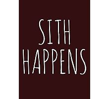 Sith Happens Photographic Print