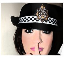 police woman Poster