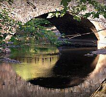 Bridge Mirror by Brian  Seidenfrau