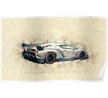 Lamborghini Veneno Poster