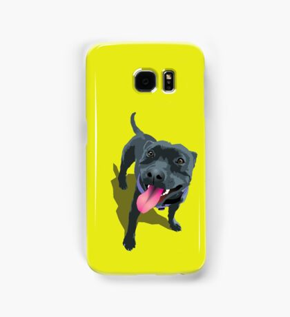 Staffy Lime Samsung Galaxy Case/Skin