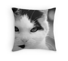 The Queen Holds Court Throw Pillow