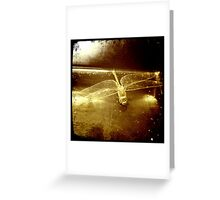 iPhone Dragonfly Greeting Card