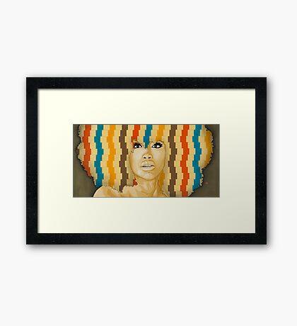Erykah Badu Framed Print