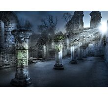 Ruins of Abbey Photographic Print