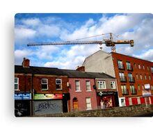 Crane Summerhill Dublin  Canvas Print