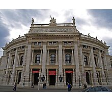 HOFBURGTHEATER Photographic Print