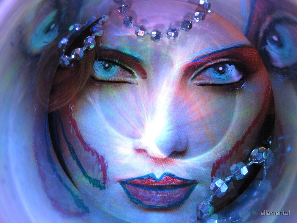 Daughter Of Beasts - Snow Wolf by ellamental