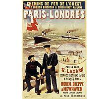 Gustave Fraipont Affiche Ouest Paris Londres Photographic Print