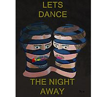 Mykonos Rose Lets Dance The Night Away Photographic Print