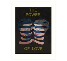 Mykonos Rose The Power Of Love Art Print
