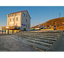 Barmouth cafe Photographic Print