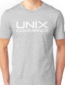 UNIX Commands Unisex T-Shirt