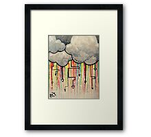 My Favorite Kind of Storm  Framed Print