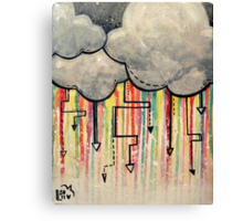 My Favorite Kind of Storm  Canvas Print