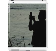 River Bank Photographer iPad Case/Skin