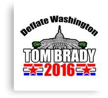 Tom Brady 2016 Canvas Print