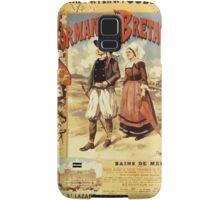 Gustave Fraipont Affiche Ouest Normandie & Bretagne Samsung Galaxy Case/Skin