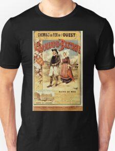 Gustave Fraipont Affiche Ouest Normandie & Bretagne T-Shirt