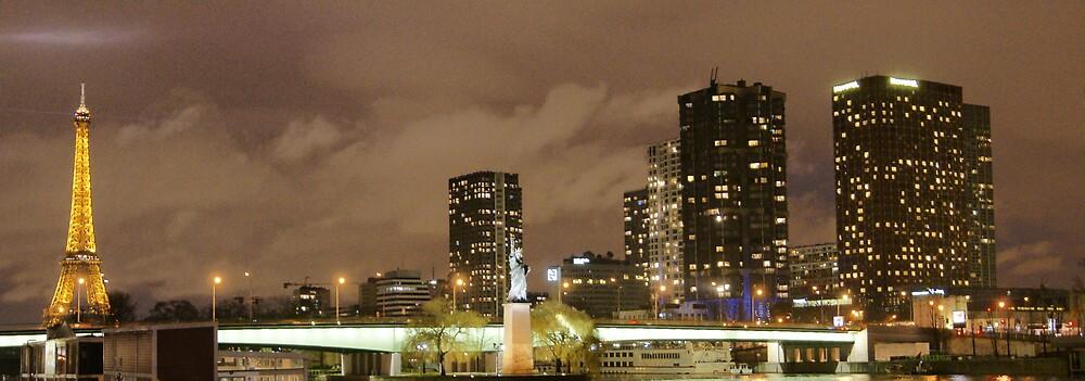 Paris skyline by Yves Roumazeilles