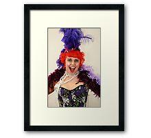 Burlesque! Framed Print