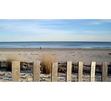 JERSEY SHORE in FEBRUARY    ^ Photographic Print