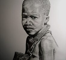 Himba Child - Namibia by Padron