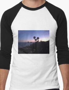 California Sunset Men's Baseball ¾ T-Shirt