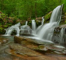 Schalk's Falls- Catskills by JHRphotoART