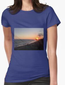 California Sunset Womens Fitted T-Shirt