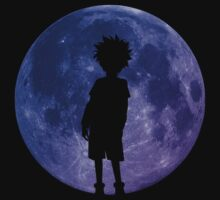 hunter x hunter killua assassin moon anime manga shirt by ToDum2Lov3