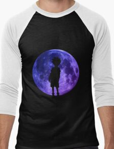 hunter x hunter killua assassin moon anime manga shirt Men's Baseball ¾ T-Shirt