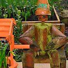 Bert the forgotten flower pot man by Steve