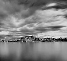 Panorama in Black N White by FOTIS MAVROUDAKIS