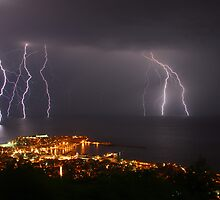 Thunderstorm by FOTIS MAVROUDAKIS
